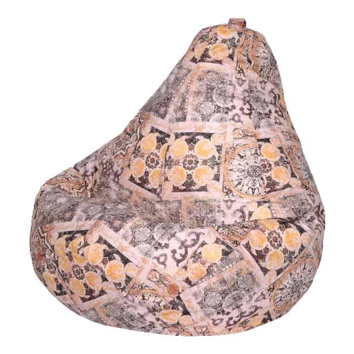 Кресло-мешок DreamBag Сиена коричневое XL 125x85