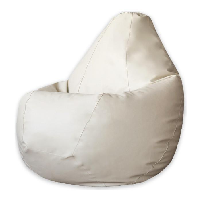 Кресло-мешок DreamBag Кремовая экокожа XL 125x85