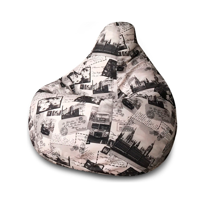 Кресло-мешок DreamBag Лондон XL 125x85 кресло мешок dreambag гусиная лапка xl 125x85