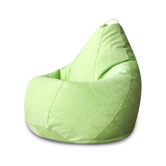 Кресло-мешок DreamBag Салатовый микровельвет XL 125x85