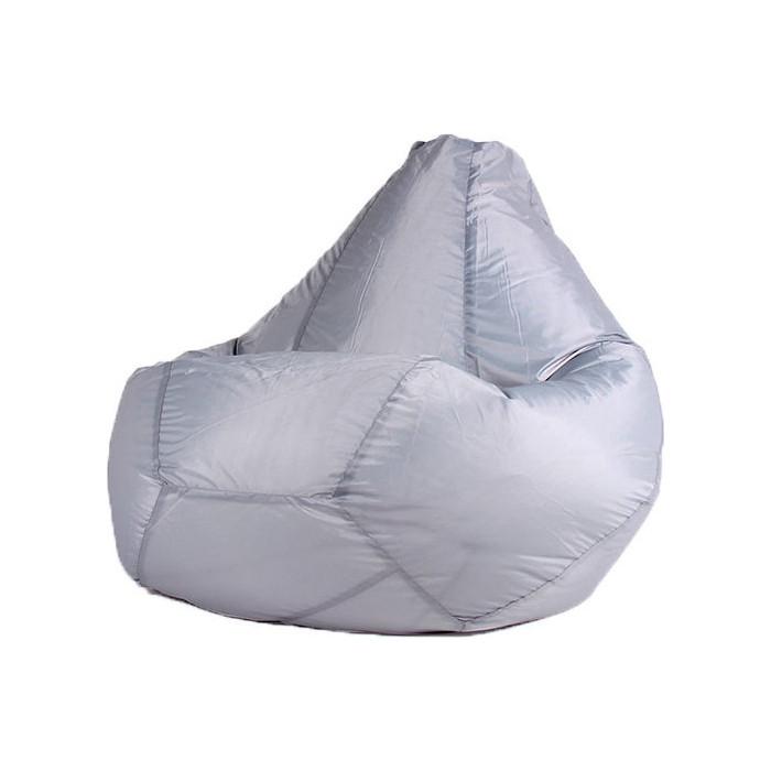 Кресло-мешок DreamBag Серое оксфорд 2XL 135x95