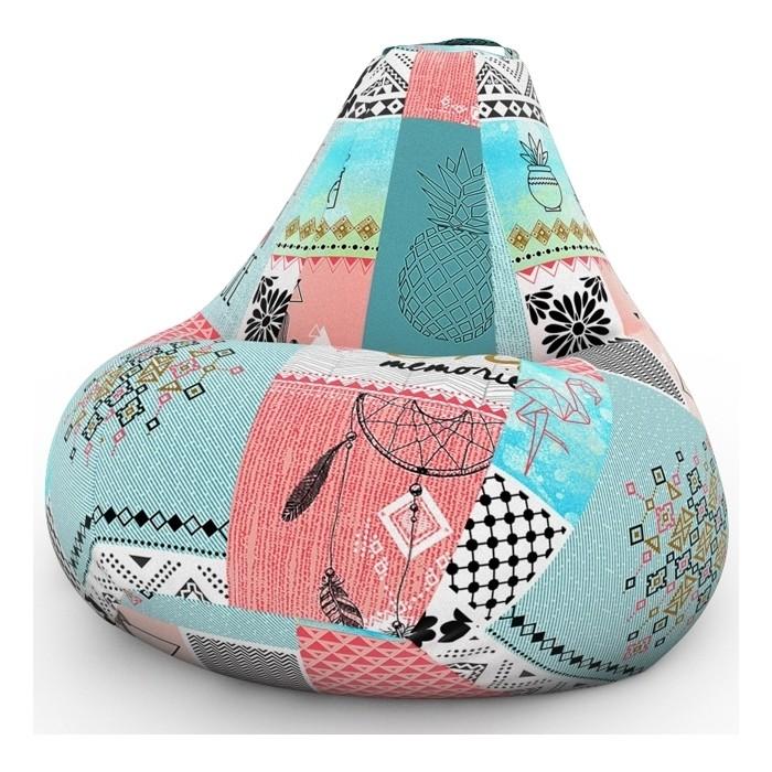 Фото - Кресло-мешок DreamBag Ловец снов 2XL 135x95 кресло мешок dreambag твинкли розовое 2xl 135x95