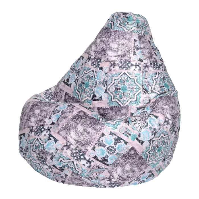 Фото - Кресло-мешок DreamBag Сиена мята 2XL 135x95 кресло мешок dreambag сиена коричневое 2xl 135x95