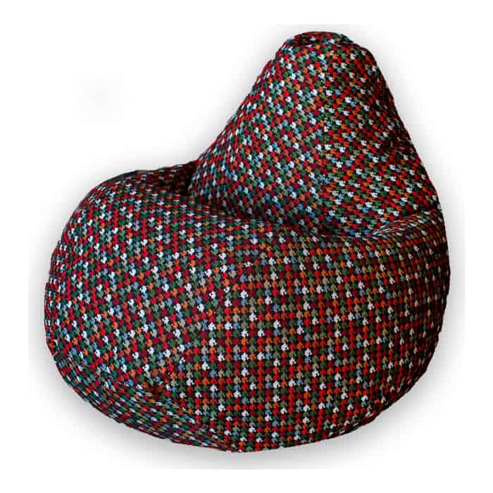 Кресло-мешок DreamBag Гусиная лапка 2XL 135x95