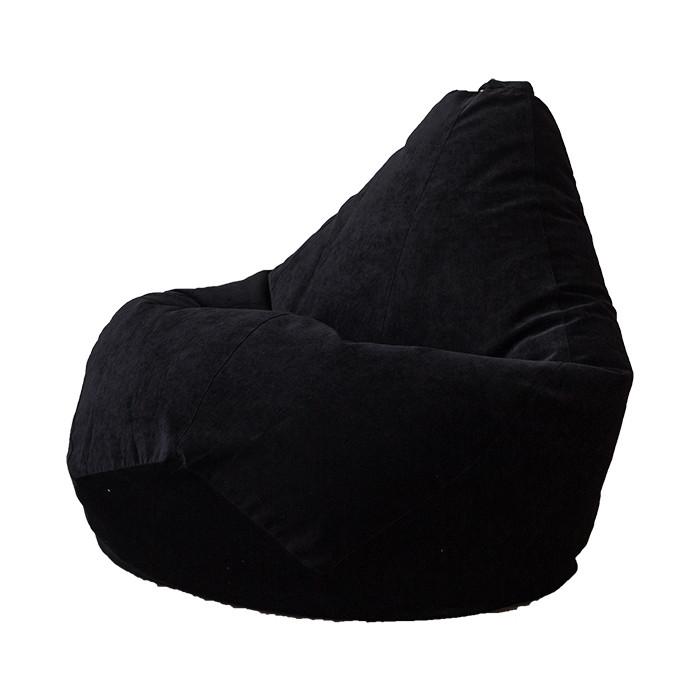 Фото - Кресло-мешок DreamBag Черный микровельвет 2XL 135x95 кресло мешок dreambag твинкли розовое 2xl 135x95