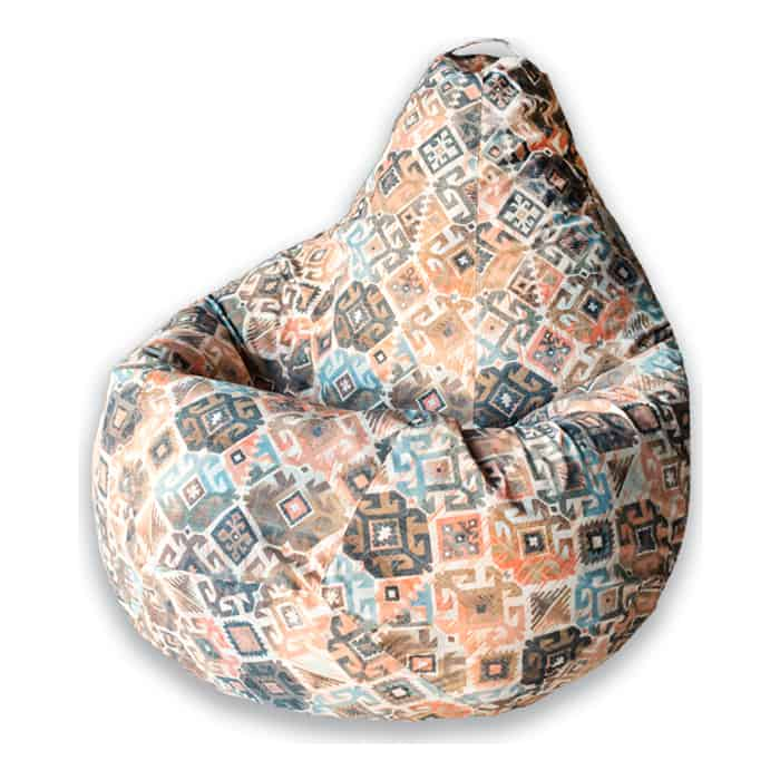 Кресло-мешок DreamBag Ясмин коричневое 3XL 150x110