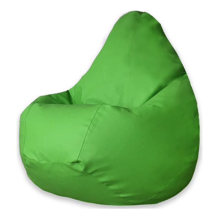 Кресло-мешок DreamBag Зеленая экокожа 3XL 150x110