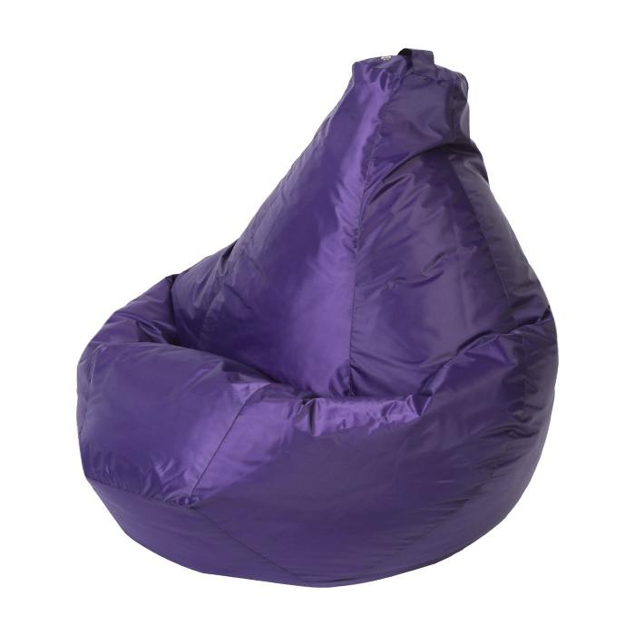 Кресло-мешок DreamBag Фиолетовое оксфорд L 80x75