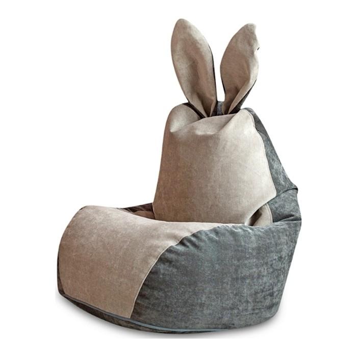 Кресло DreamBag Зайчик серый