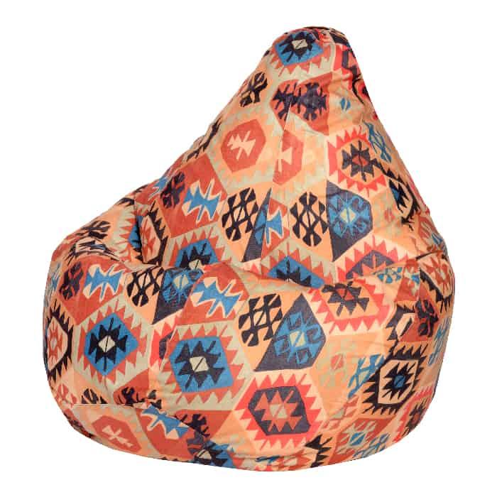 Кресло-мешок DreamBag Мехико оранжевое XL 125x85 кресло мешок dreambag гусиная лапка xl 125x85