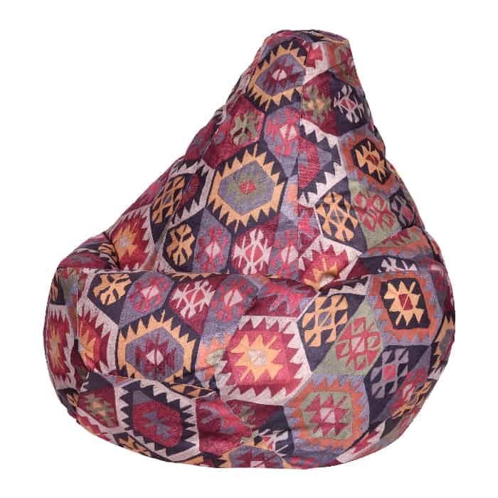 Кресло-мешок DreamBag Мехико бордовое XL 125x85