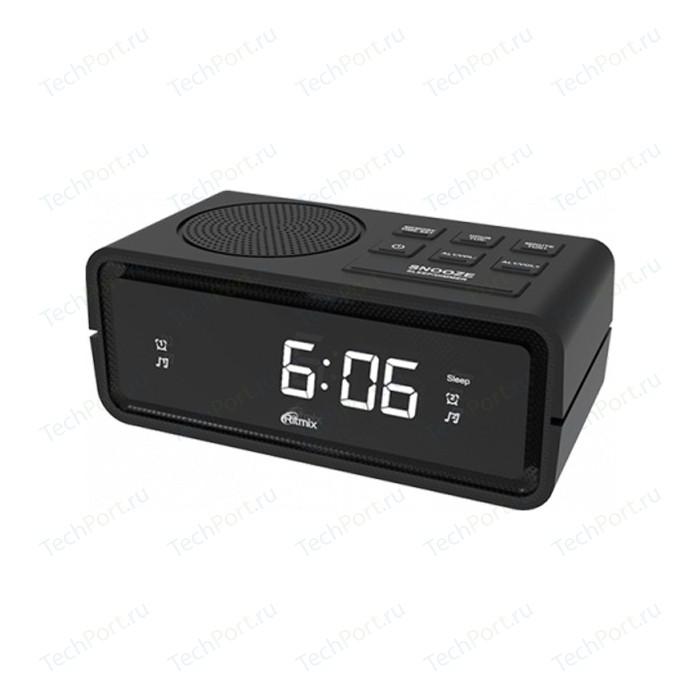 Радиоприемник Ritmix RRC-606 black радиоприемник ritmix rrc 1295