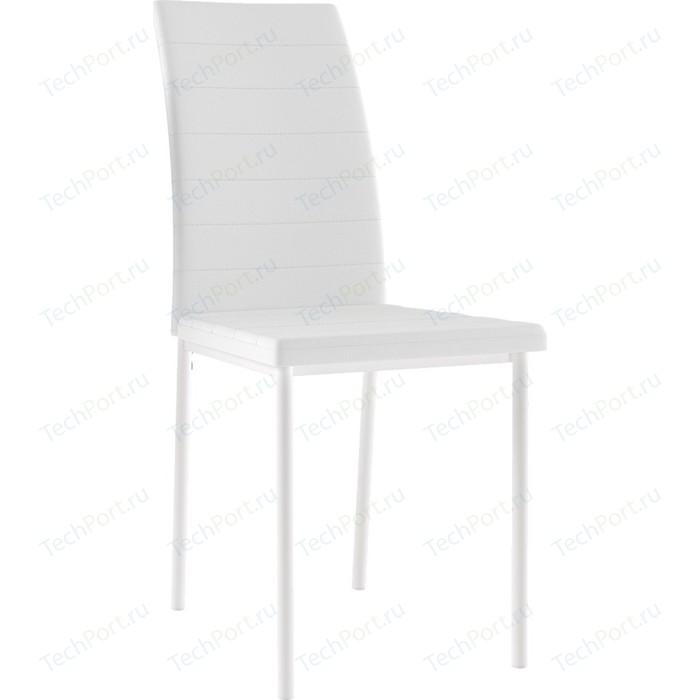 Картинка для Стул Leset Бишо металл белый/экокожа белая