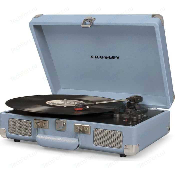 Виниловый проигрыватель CROSLEY CRUISER DELUXE [CR8005D-TN] tourmaline c Bluetooth