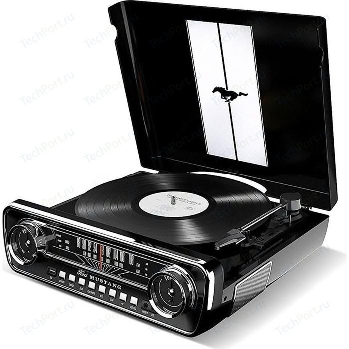 Виниловый проигрыватель Ion MUSTANG LP с радио [black]