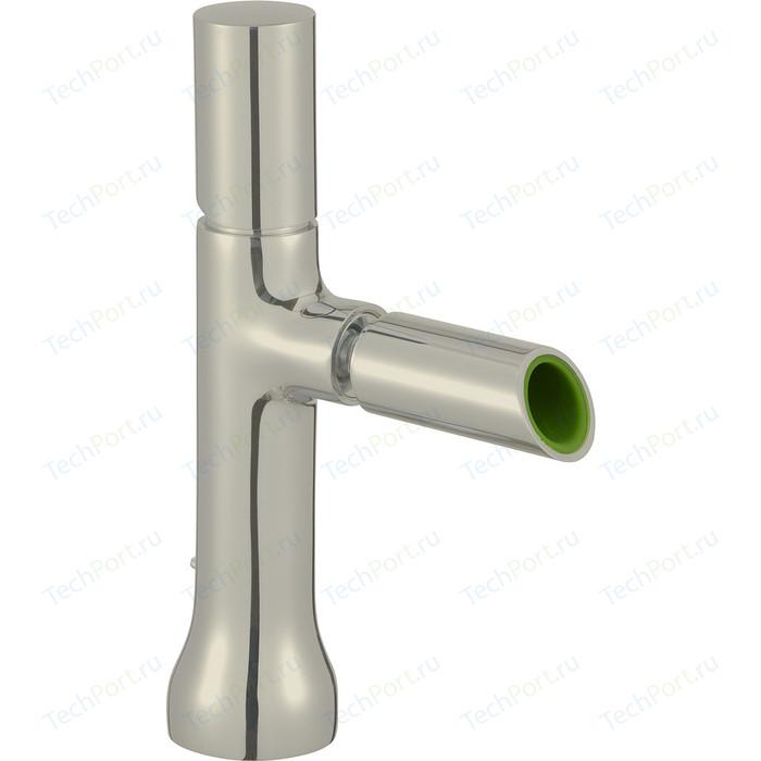 Смеситель для биде Jacob Delafon Toobi с донным клапаном, полированный никель (E8961-BN)