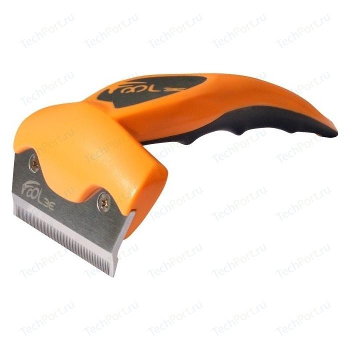 Щётка-триммер FoOLee One Medium 6,5см оранжевый для кроликов, кошек и собак средних пород