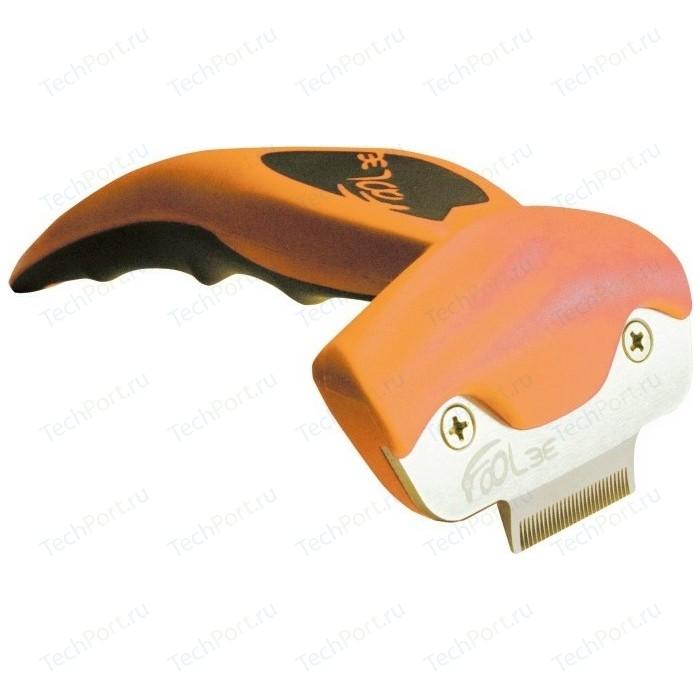 Щётка-триммер FoOLee One XS 3,1 см оранжевый для кроликов, кошек и собак карликовых пород