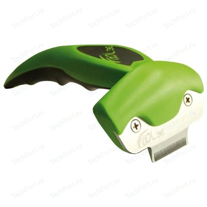 Щётка-триммер FoOLee One XS 3,1см зеленый для кроликов, кошек и собак карликовых пород