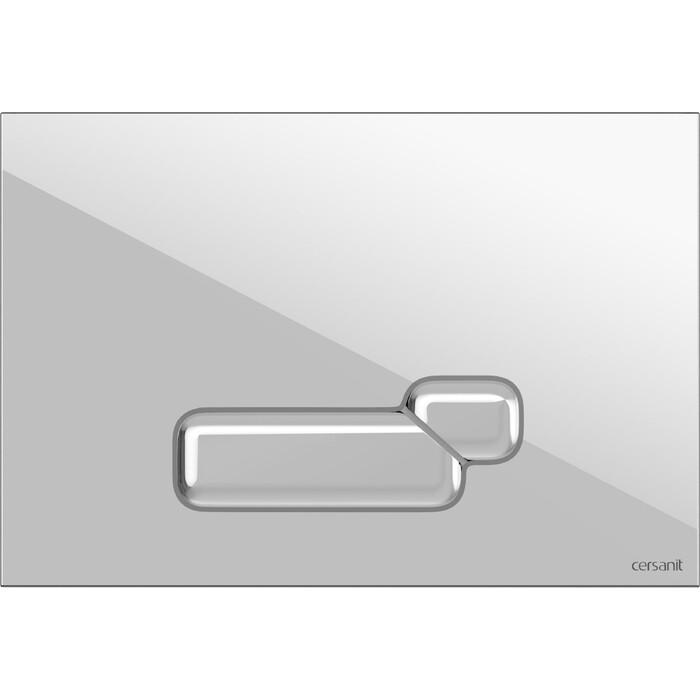 Кнопка смыва Cersanit Actis пластик, белый (P-BU-ACT/Wh)