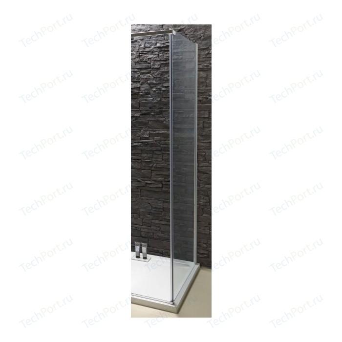 Боковая стенка Jacob Delafon Contra 90x195 стекло прозрачное, профиль хром (E22FC90-GA)