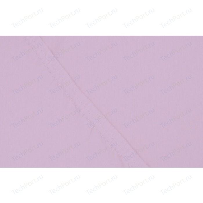 Простынь на резинке Ecotex 160x200x20 сиреневый (4670016950086)