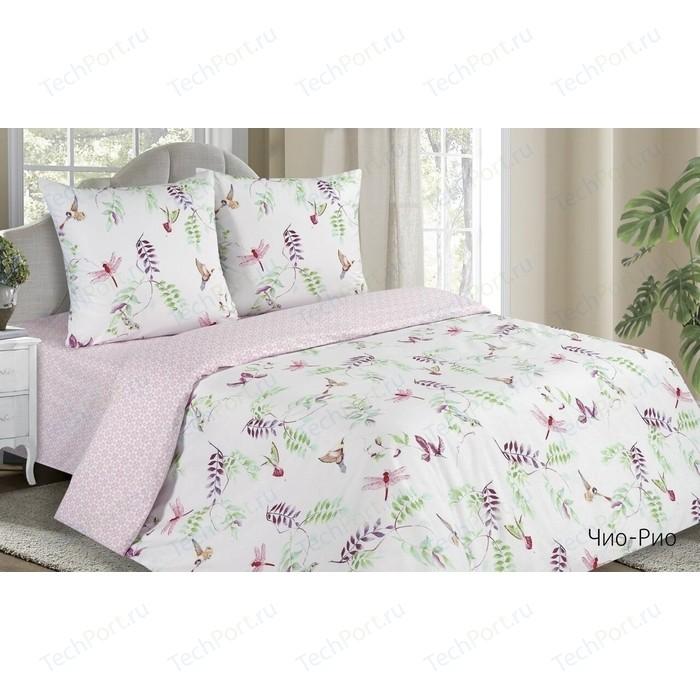 Комплект постельного белья Ecotex семейный, поплин Поэтика Чио-Рио (4660054342202) комплект постельного белья семейный tango 05 x47