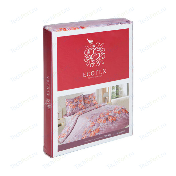 Комплект постельного белья Ecotex евро, поплин Поэтика Этро (4660054342257)