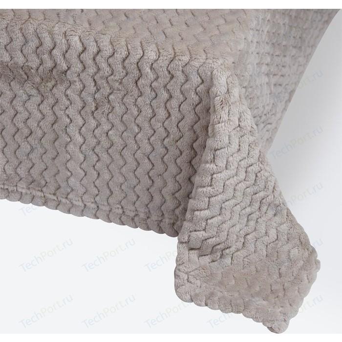 Плед Ecotex 200х220см серый (4660054343032)