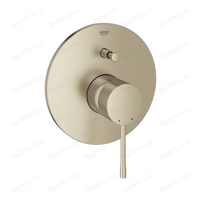 Смеситель для ванны Grohe Essence механизма 35501, никель матовый (19285EN1)