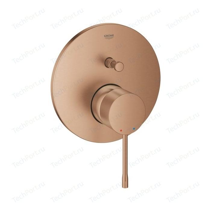Смеситель для ванны Grohe Essence механизма 35600, теплый закат матовый (24058DL1)