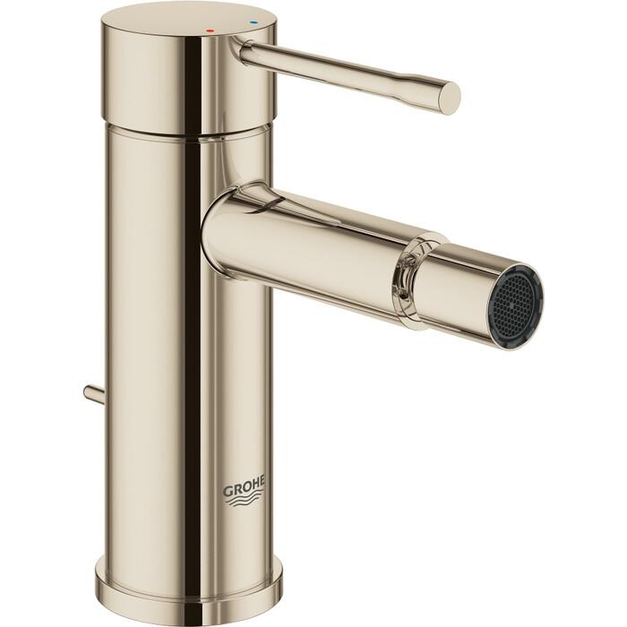 Смеситель для биде Grohe Essence с донным клапаном, никель глянцевый (32935BE1)