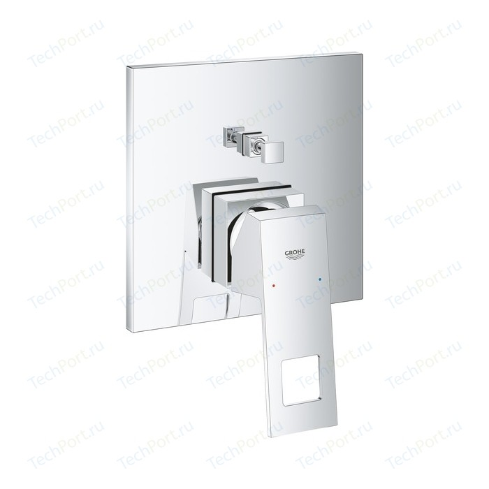 Смеситель для ванны Grohe Eurocube механизма 35600 (24062000)