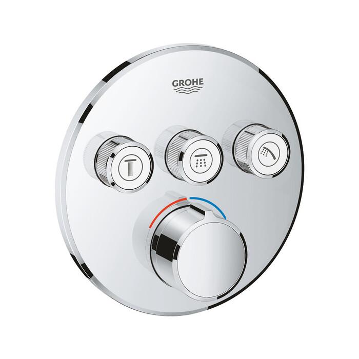 Смеситель для ванны Grohe SmartControl Mixer механизма 35600 (29146000)