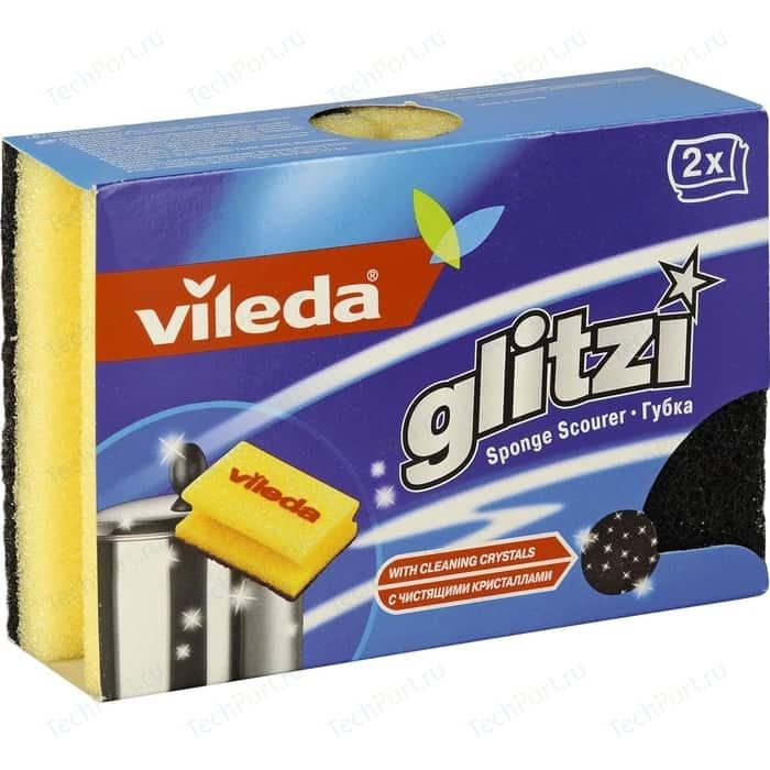 Губка VILEDA Glitzi (Глитци) для посуды Глитци 2 шт