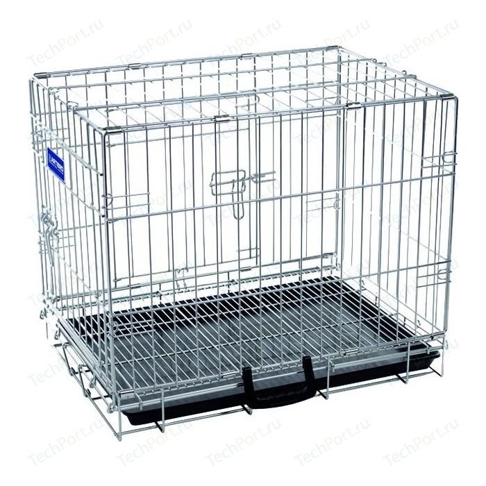 Клетка ARTERO №2 металлическая с фальшдном 63х48х57см для собак