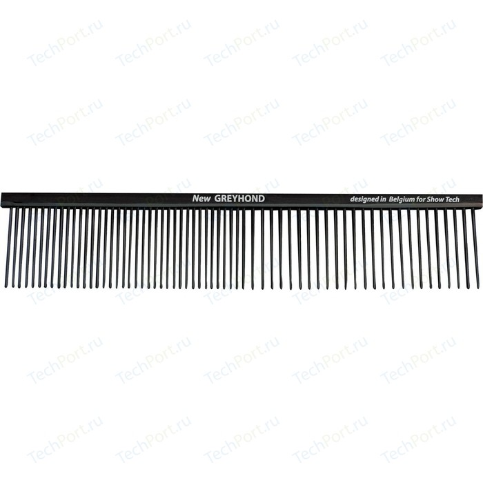 Расческа Show Tech Anti-Static New Greyhond Brass Comb 19см для собак