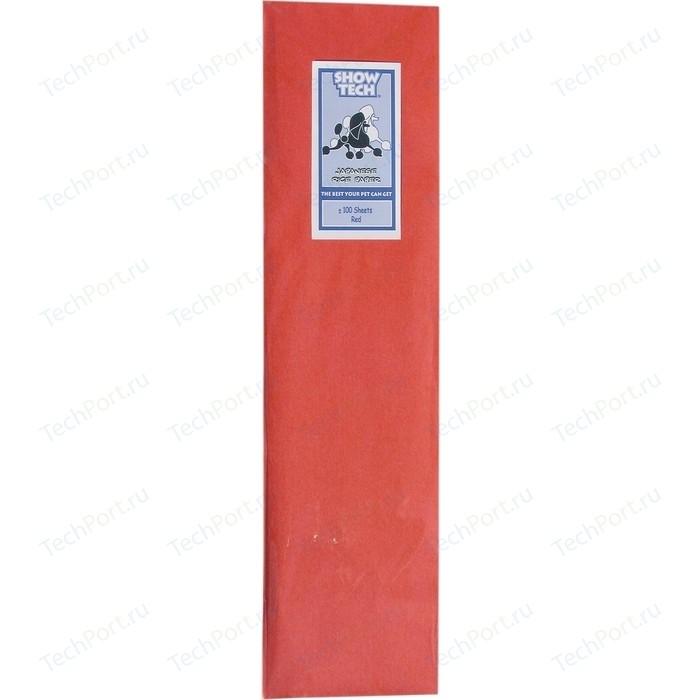 Рисовая бумага Show Tech Rice Paper Red для папильоток красная собак