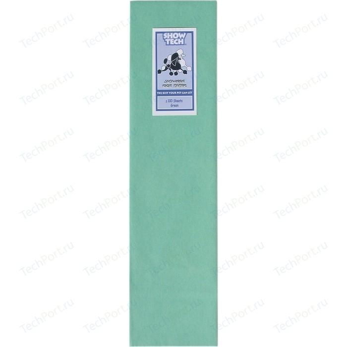 Рисовая бумага Show Tech Rice Paper Green для папильоток зеленая собак