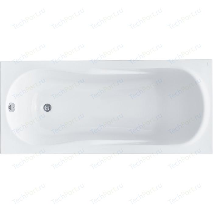 Акриловая ванна Santek Каледония 160х75 каркас, слив-перелив (1WH302388, 1WH302389) акриловая ванна santek монако 150х70 каркас слив перелив 1wh111976 1wh112424