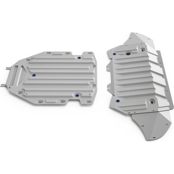 Защита радиатора, картера и КПП Rival для Audi Q7 II (2015-н.в.), алюминий 4 мм, K333.0350.1
