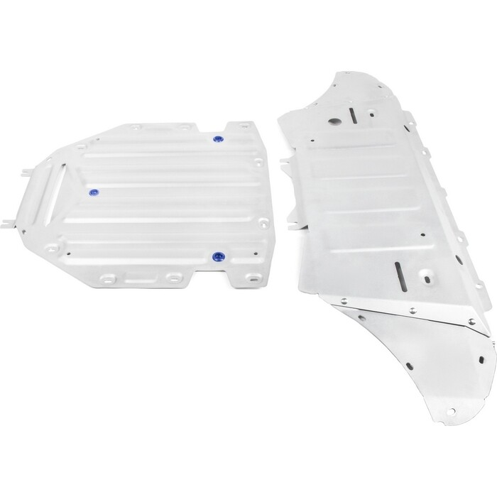 Защита радиатора, картера и КПП Rival для Audi Q8 (2019-н.в.), алюминий 4 мм, K333.0330.1