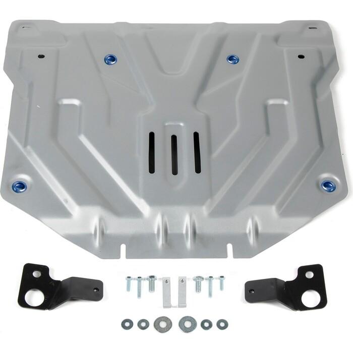 Защита картера и КПП Rival для Honda CR-V V (2017-н.в.), алюминий 4 мм, 333.2131.2