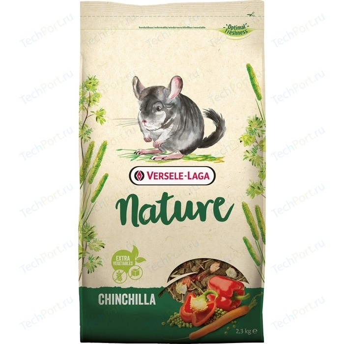 Корм VERSELE-LAGA Nature Chinchilla для шиншилл 2,3кг