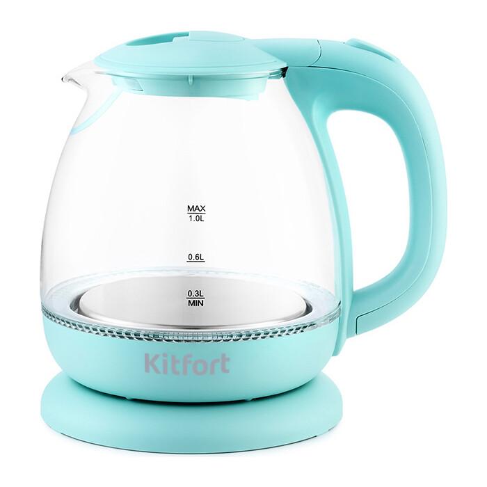 Чайник электрический KITFORT KT-653-1 чайник электрический kitfort kt 625 1