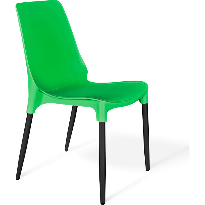 Стул Sheffilton SHT-S75-1 зеленый/черный муар