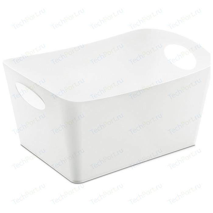 Контейнер для хранения белый Koziol Boxxx M (5744525) контейнер для хранения koziol bottichelli 4 5 л темно серый