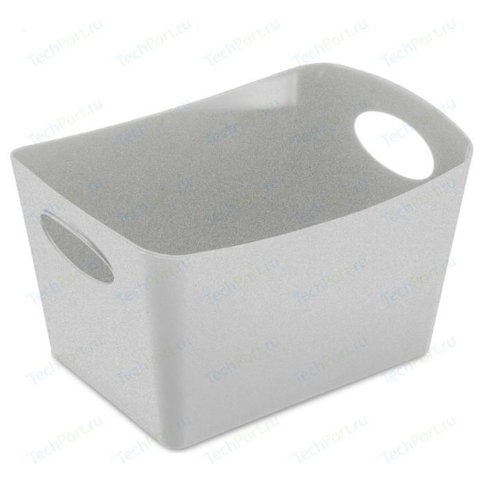 Контейнер для хранения 1 л серый Koziol Boxxx S Organic (5745670)