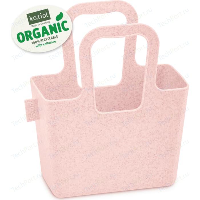 Органайзер розовый Koziol Taschelini S Organic (5415669)
