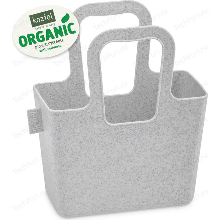 Органайзер серый Koziol Taschelini S Organic (5415670)